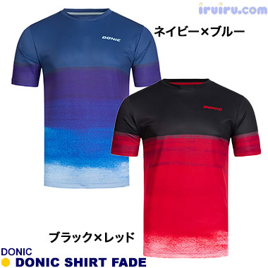 DONIC/DONIC シャツ フェイド